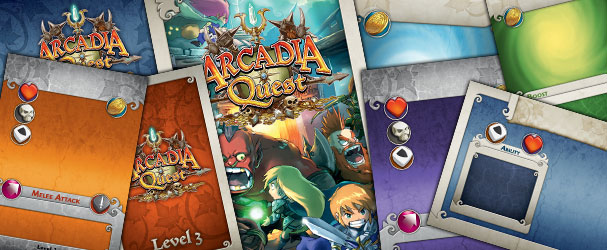 Arcadia Quest Blank Cards