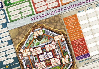 Arcadia Quest Campaign Sheet