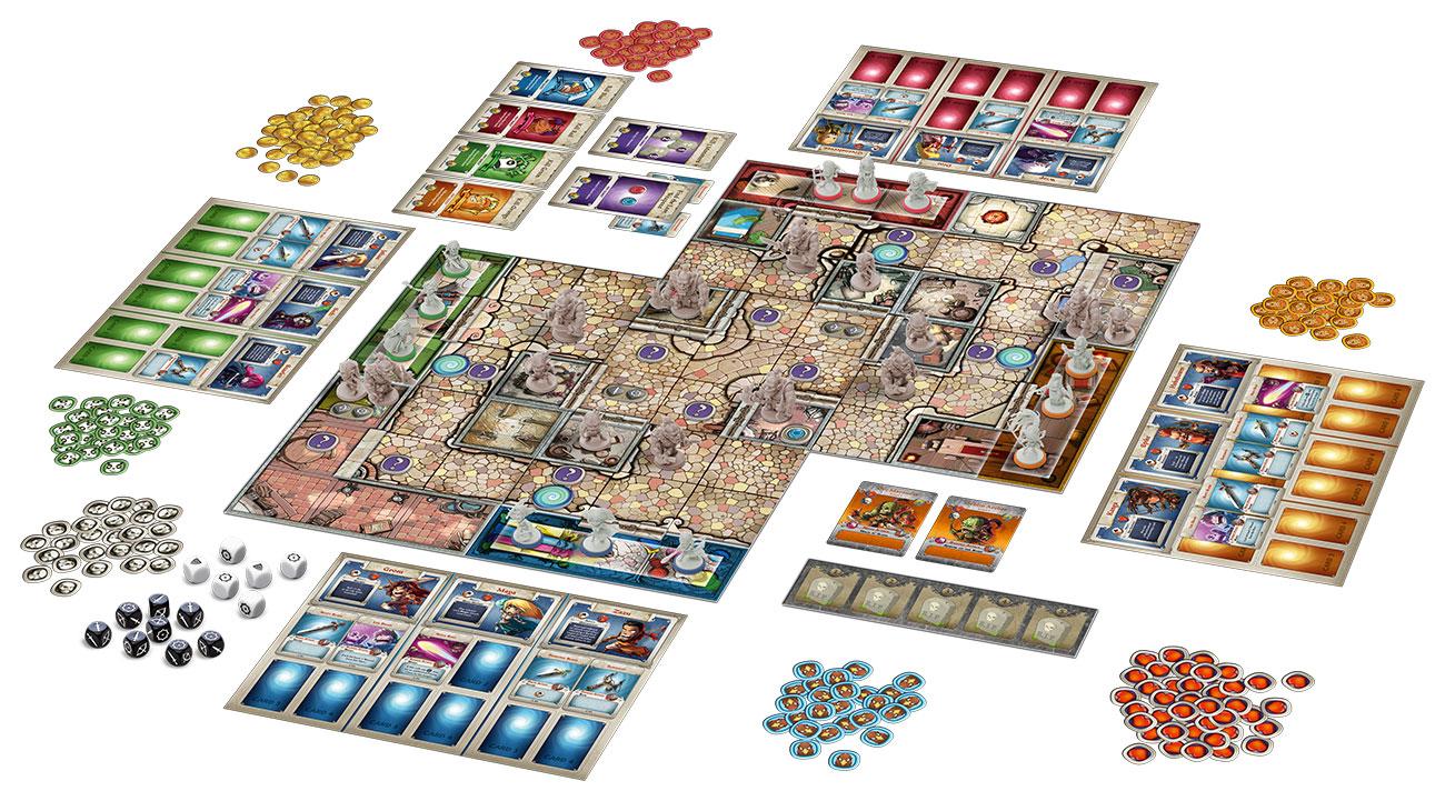 Arcadia quest gioco da tavolo italiano dungeons dragons - Dungeon gioco da tavolo ...