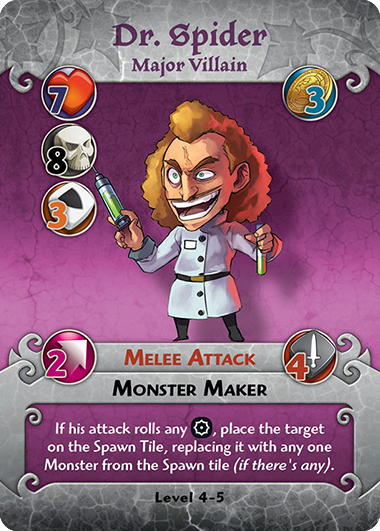 Dr. Spider profile card