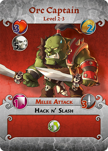 Orc Captain profile card