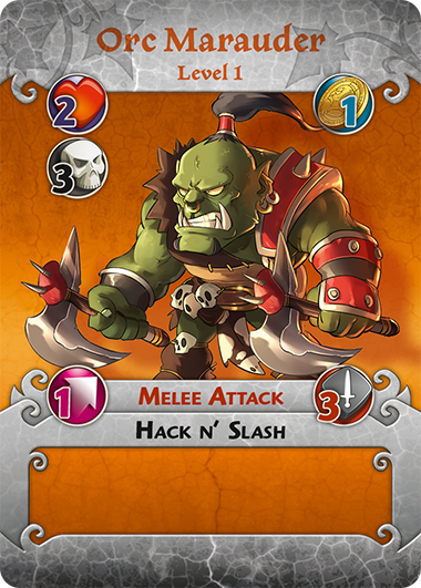 Orc Marauder profile card