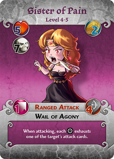 Sister of Pain profile card
