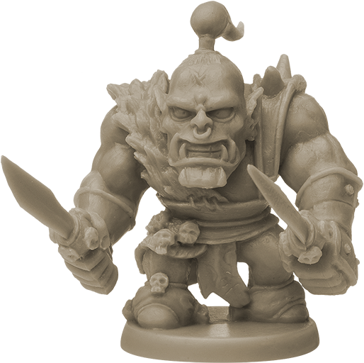 Orc Captain miniature