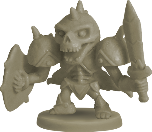 Skelebone miniature